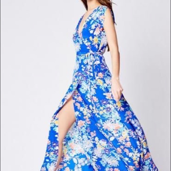Yumi Kim Dresses Swept Away Maxi Dress Nwt Poshmark